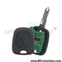 Remote key for Citroen Peugeot 2 button ID46 NE72 434mhz