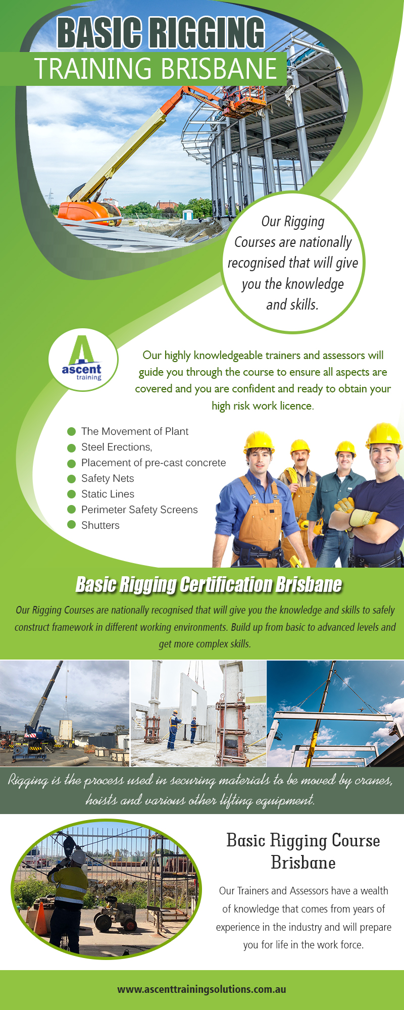 Basic Rigging Training Brisbane