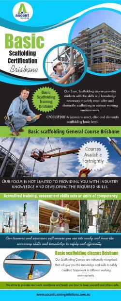 Basic Scaffolding Certification Brisbane