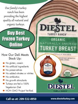 Buy Best Frozen Turkey Online