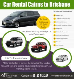 Car Rental Cairns to Brisbane | 1800707000 | alldaycarrentals.com.au