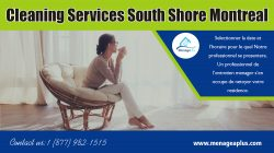 Cleaning Services South Shore Montreal