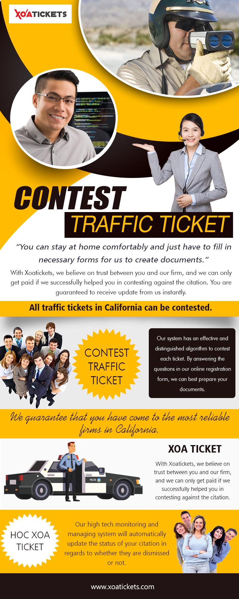 Contest Traffic Ticket
