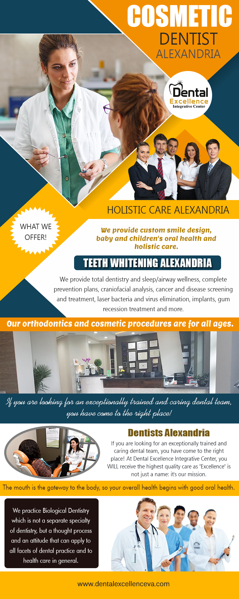 Cosmetic dentist Alexandria