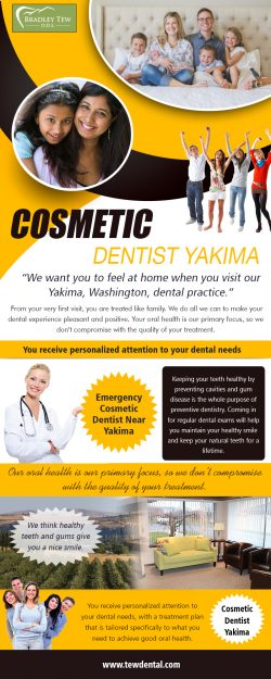 Cosmetic Dentist near me | 509728932 | tewdental.com