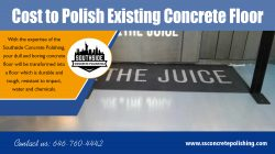 Cost to Polish Existing Concrete Floor