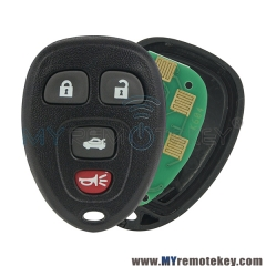 OUC60270 / OUC60221 Remote Fob for Chevrolet Buick Cadillac 4 button