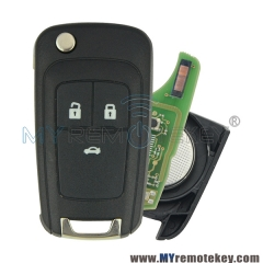 Remote key for Buick Excelle GT 3 GM ID46 chip 434mhz 3 button