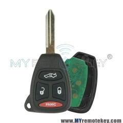 KOBDT04A Remote head key 3 button with panic 315Mhz for Chrysler Dodge Jeep Grand Cherokee