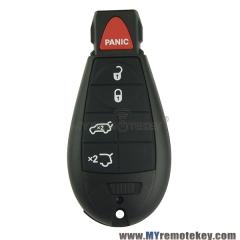 New type keyless entry remote key fob Fobik for Chrysler Dodge Jeep IYZ-C01C