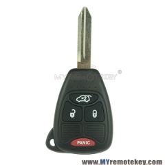 M3N5WY72XX Remote car key head for Chrysler Dodge Jeep 3 button with panic 315mhz