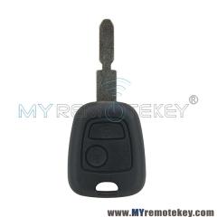 Remote key for citroen peugeot 2 button 434mhz NE78 ID46 electronic chip