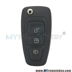 AM5T15K601AD 2036872 car remote flip key 3 button 434mhz FSK 4D63 chip for Ford Mondeo Focus C-M ...