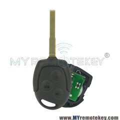 Remote key HU101 for Ford Focus C-Max S-Max Connect Fiesta Fusion Galaxy 2006 2007 2008 2009 201 ...