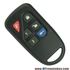 Remote Fob for Ford 200 Series 8L3D-15K601-AA 433.9Mhz 6 Buttons