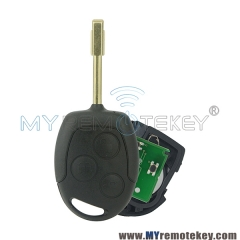 Remote key for Ford Focus C-Max S-Max Connect Fiesta Fusion Galaxy 2006 2007 2008 2009 2010 433M ...