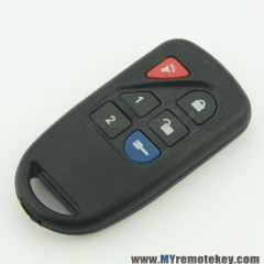 Remote fob for Ford 6 button 8L3D-15K601-AA 433.9mhz