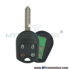 Remote key for Ford Edge 4 button 315mhz FO38