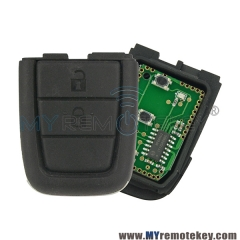Remote key part for Holden VE Commodore 434mhz 2 button with panic