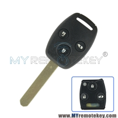 72147-SZW-J0 Remote car key 3 button for Honda HLIK-4T