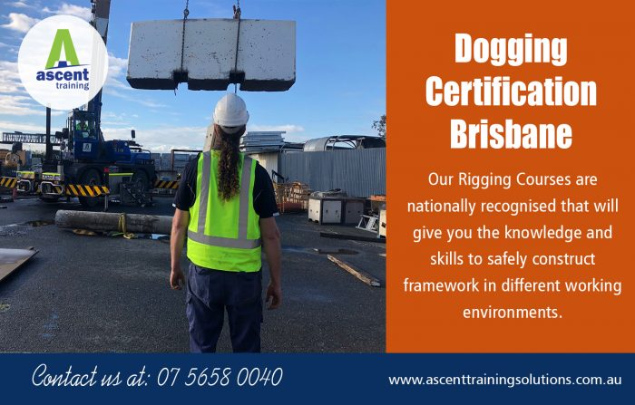 Dogging Certification Brisbane