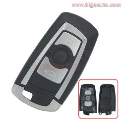 Smart key case 3 button for BMW