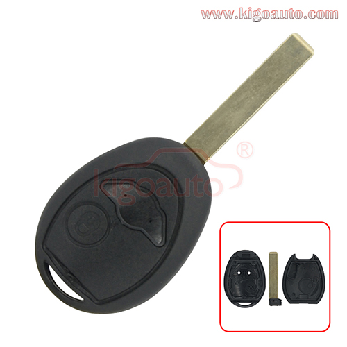 Remote key shell 2button for Mini cooper