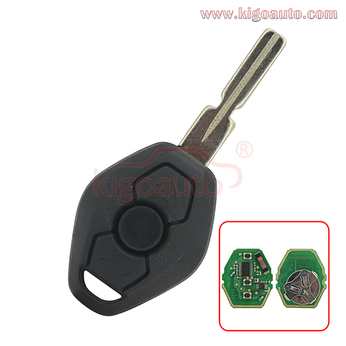 Remote key HU58 CAS system for BMW 3 button