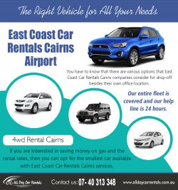 East Coast Car Rentals Cairns Airport | 740313348 | alldaycarrentals.com.au
