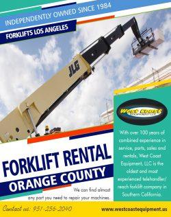 Forklift Rental Orange County|westcoastequipment.us|1-9512562040