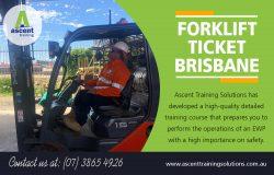 Forklift Ticket Brisbane