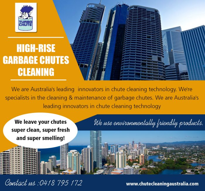 High-Rise Garbage Chutes Cleaning