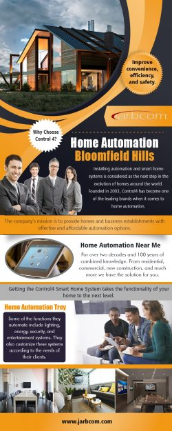 Home Automation Bloomfield Hills | Call – 1-800-369-0374 | jarbcom.com