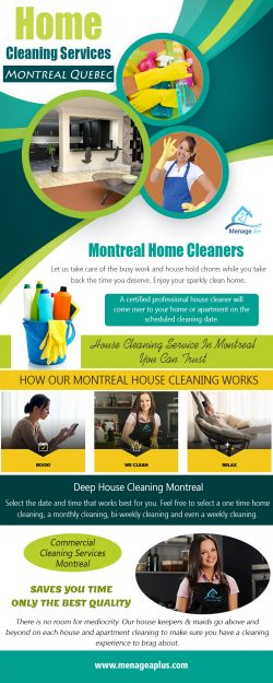 Home Cleaning Services Montreal Quebec