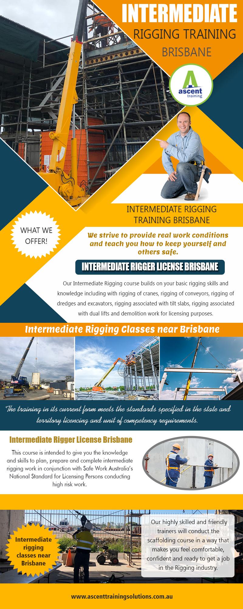 Intermediate Rigging Training Brisbane