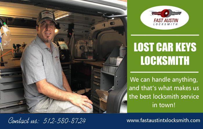 Lost Car Keys Locksmith