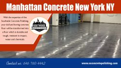 Manhattan concrete new york NY