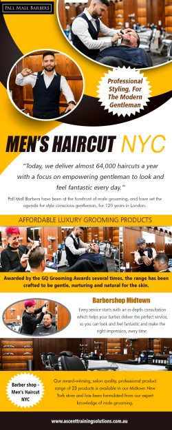 Men's Haircut NYC