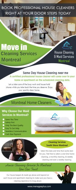 Move in Cleaning Services Montreal