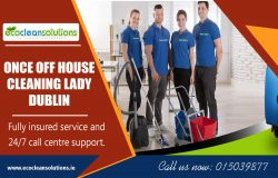 Once Off House Cleaning Lady Dublin ecocleansolutions.ie Call Us-35315039877