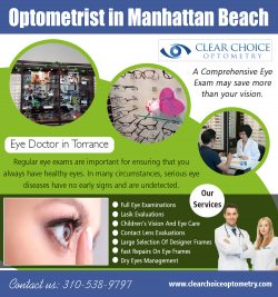 Optometrist in Manhattan Beach | 3105389797 | clearchoiceoptometry.com
