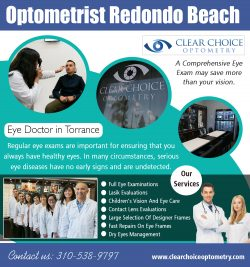 Optometrist Redondo Beach | 3105389797 | clearchoiceoptometry.com