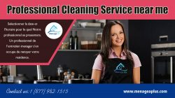 Professional Cleaning Service Near Me