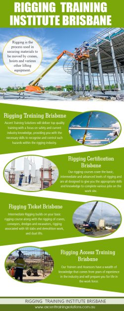 Rigging Training Institute Brisbane