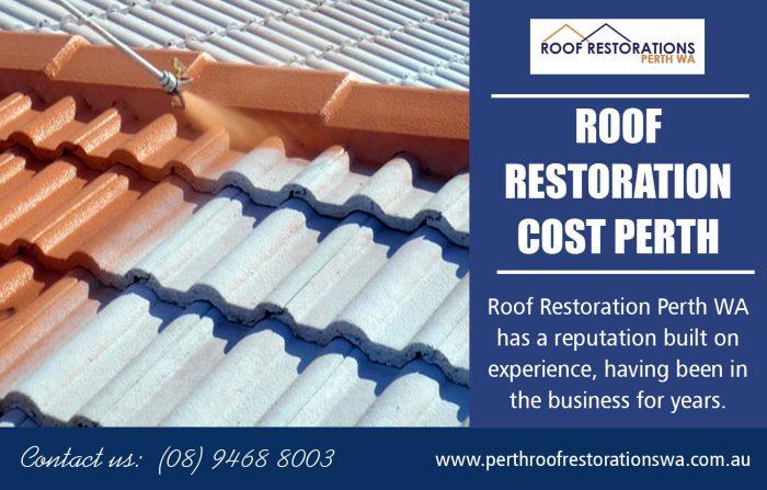 Roof Restoration Cost