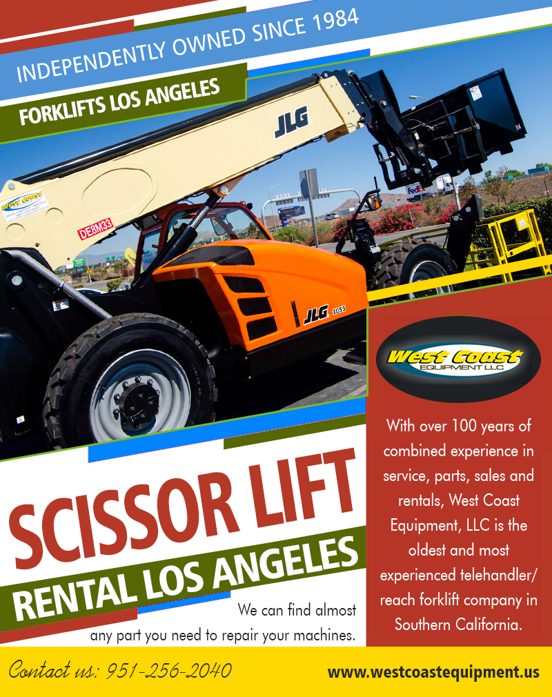 Scissor Lift Rental Los Angeles|westcoastequipment.us|1-9512562040