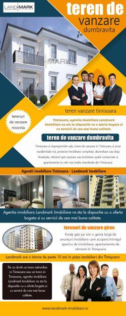 Teren De Vanzare Dumbravita   Telefon – 40 256 434 390   landmark-imobiliare.ro