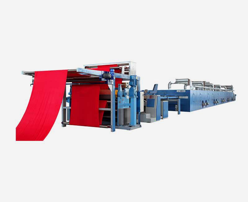 Hot Air Stenter Machine ZCMD768