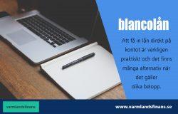 Blancolån för konsumtion