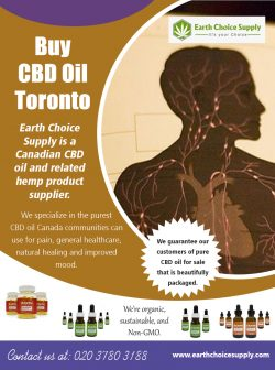 Buy CBD Oil Toronto